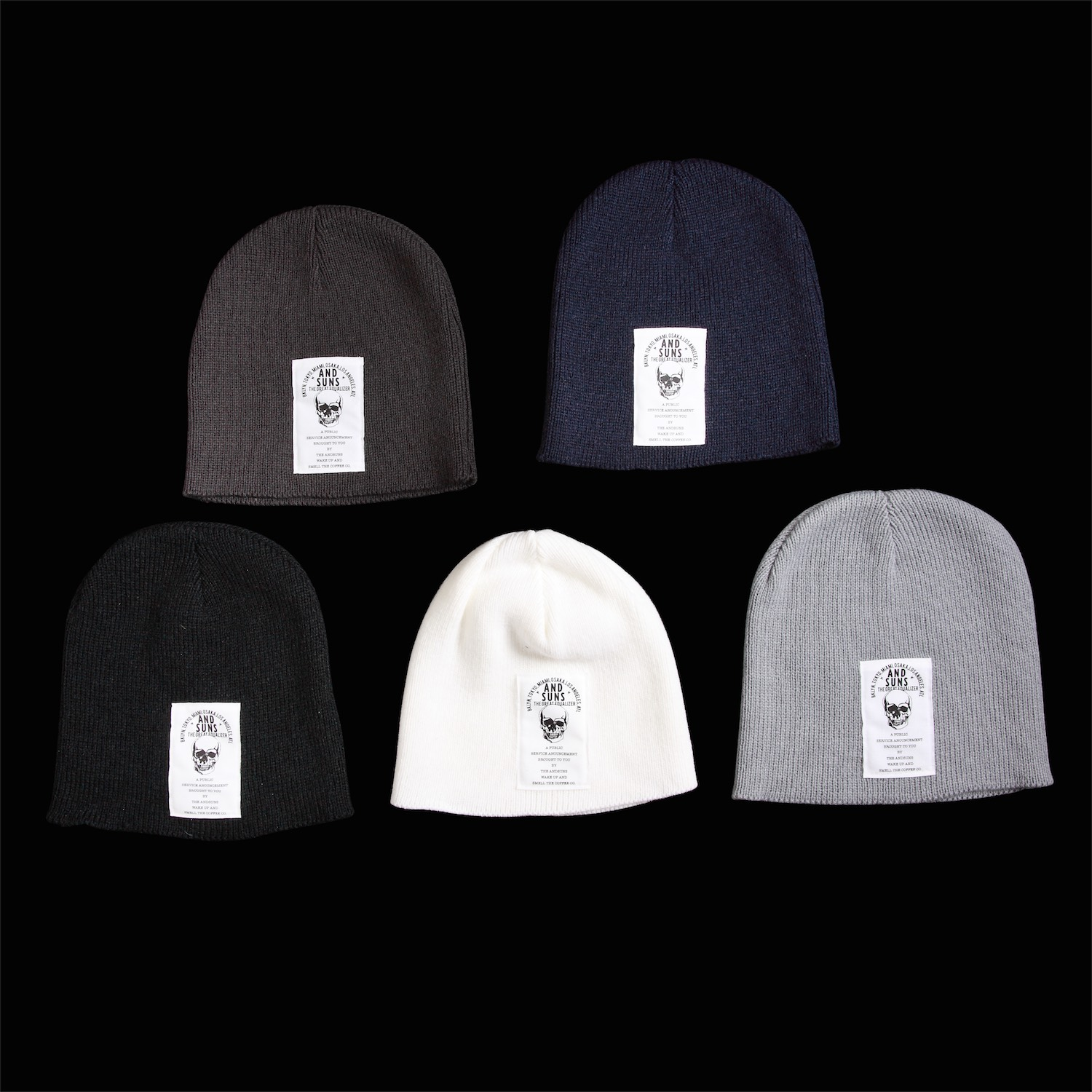 5c37f6a1 THE COFFEE CO. BEENIE: ¥ 2,160